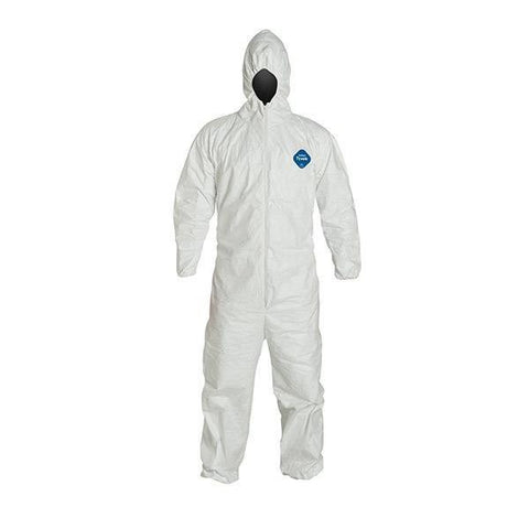 Dupont Tyvek Coveralls TY 122 S WH