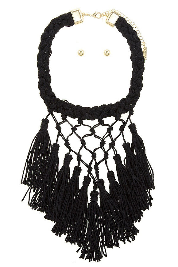 Braided tassels