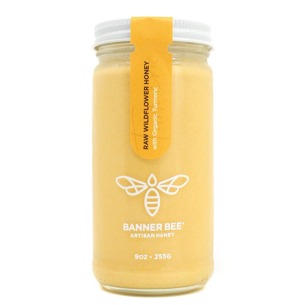 Turmeric Enriched Raw Honey