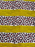 Yellow, Black and Red Ankara African Head Wrap | Thrifty Upenyu