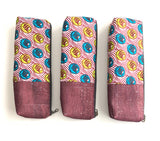 ankara cork long pencil pouches
