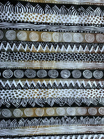 charcoal african fabric