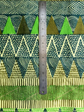 green african textile to scale
