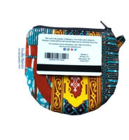 teal african change pouch