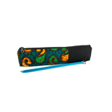 green long pencil pouch