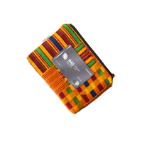 kente small zipper pouch