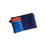navy small african pouch