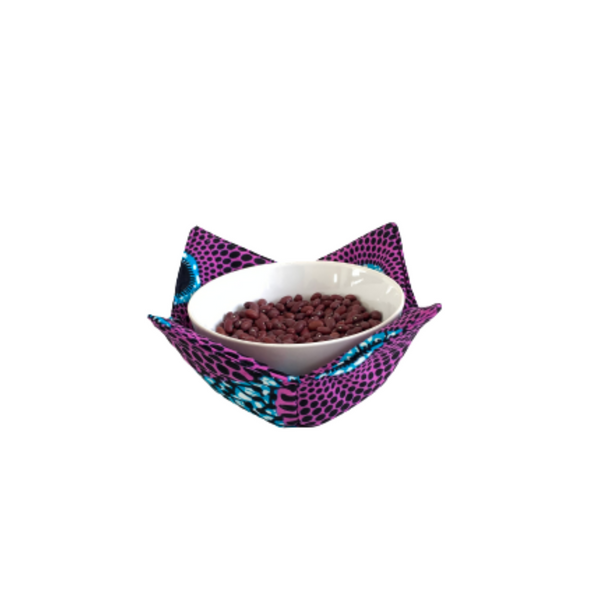 purple ice cream bowl cozy