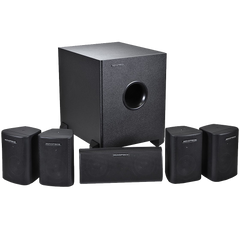 Monoprice 108247 5.1-Channel Home Theater Speaker System Six