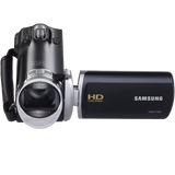 Samsung F90 Black Camcorder with 2.7 LCD Screen and HD Video Recording