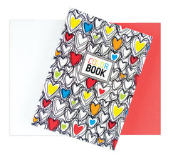 MAKE NOTES COLOR BOOK - HEARTS