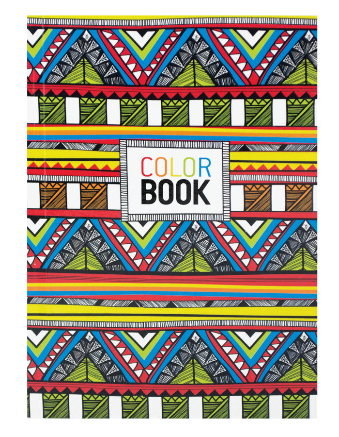MAKE NOTES COLOR BOOK - TRIBAL