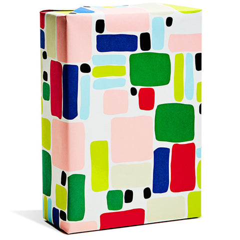 Block Party Wrapping Paper