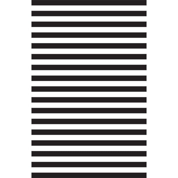 Kenzie Stripe-Black Tissue Paper