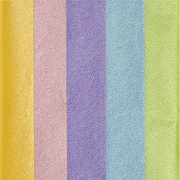 Pearl Pastels Multi-Color Tissue Paper Pack
