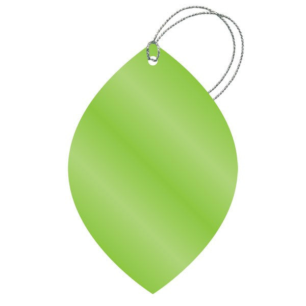 Metallic Lime Green Gift Tags