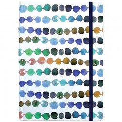Hardcover Journal Azure Dots