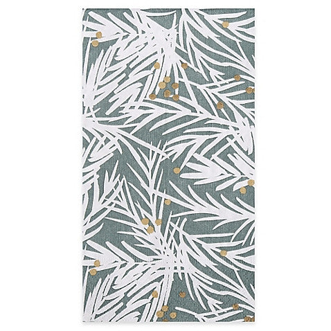 Sprig Wintergreen Guest Towels