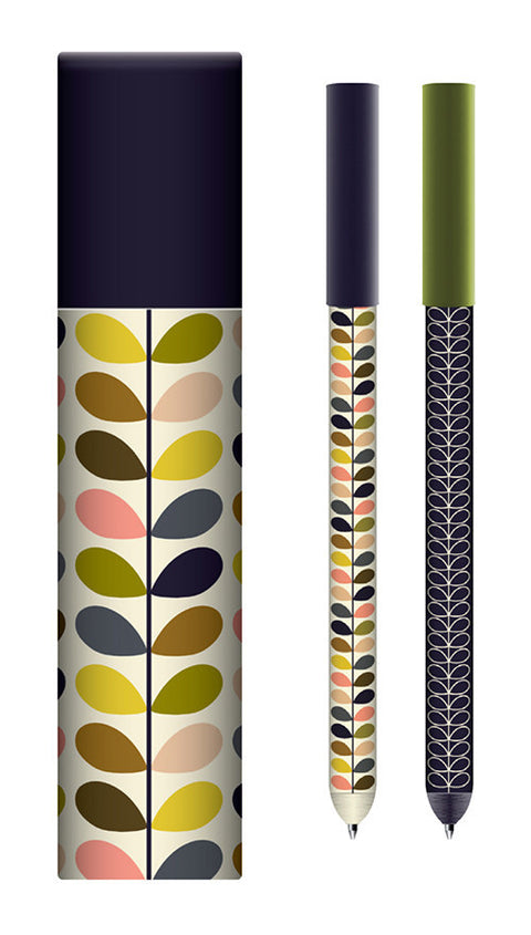 Orla Kiely Multi Stem Pen Set