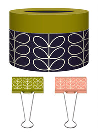 Orla Kiely Binder Clips - Linear Stem