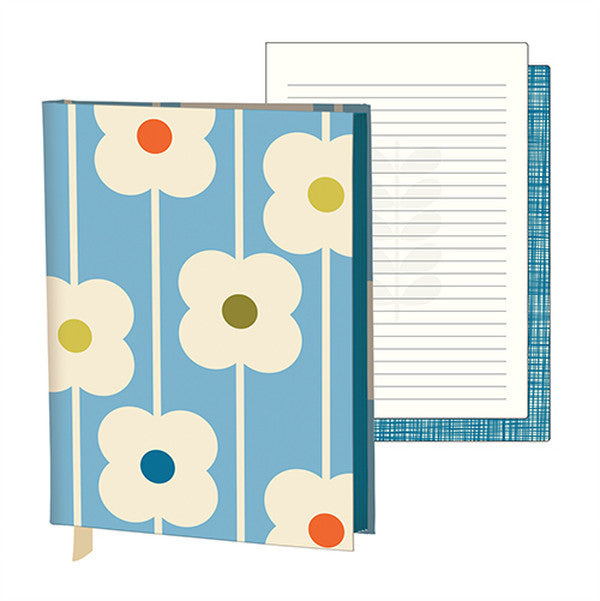 Orla Kiely Fabric-covered Journal - Abacus