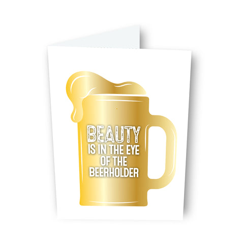 Beauty Beer Card