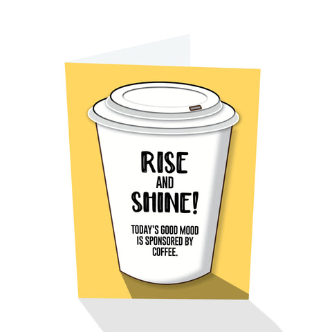 Rise and Shine! Notecard
