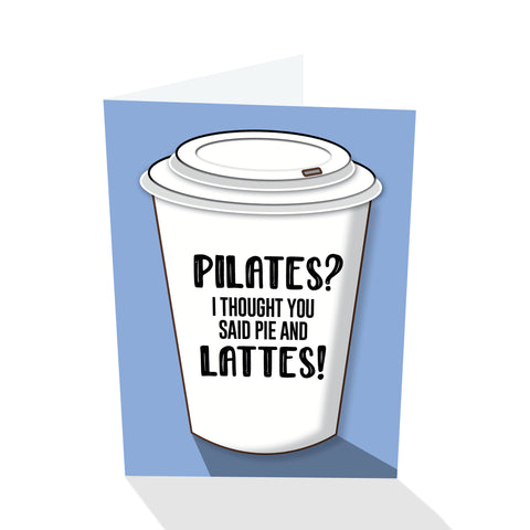 Pilates? Notecard