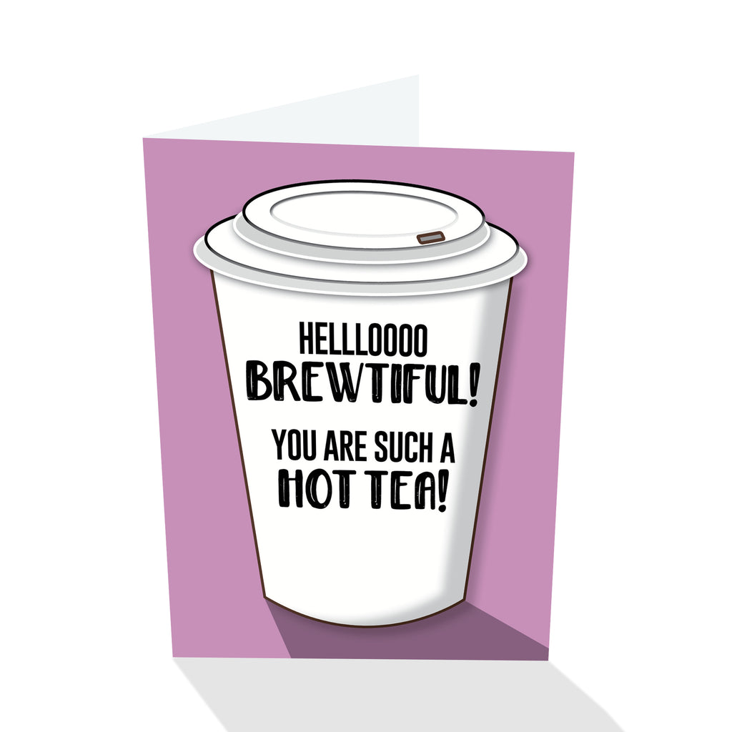Hello Brewtiful! Notecard