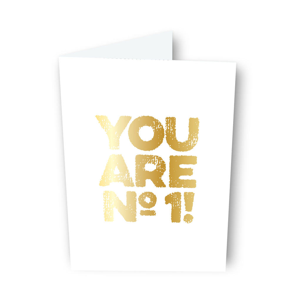 You Are No.1 Card