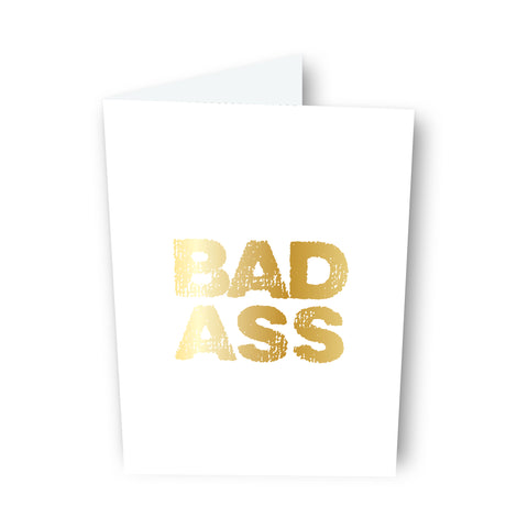 Bad Ass Card