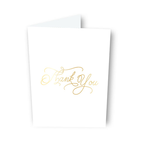 Thank You (Script) Card