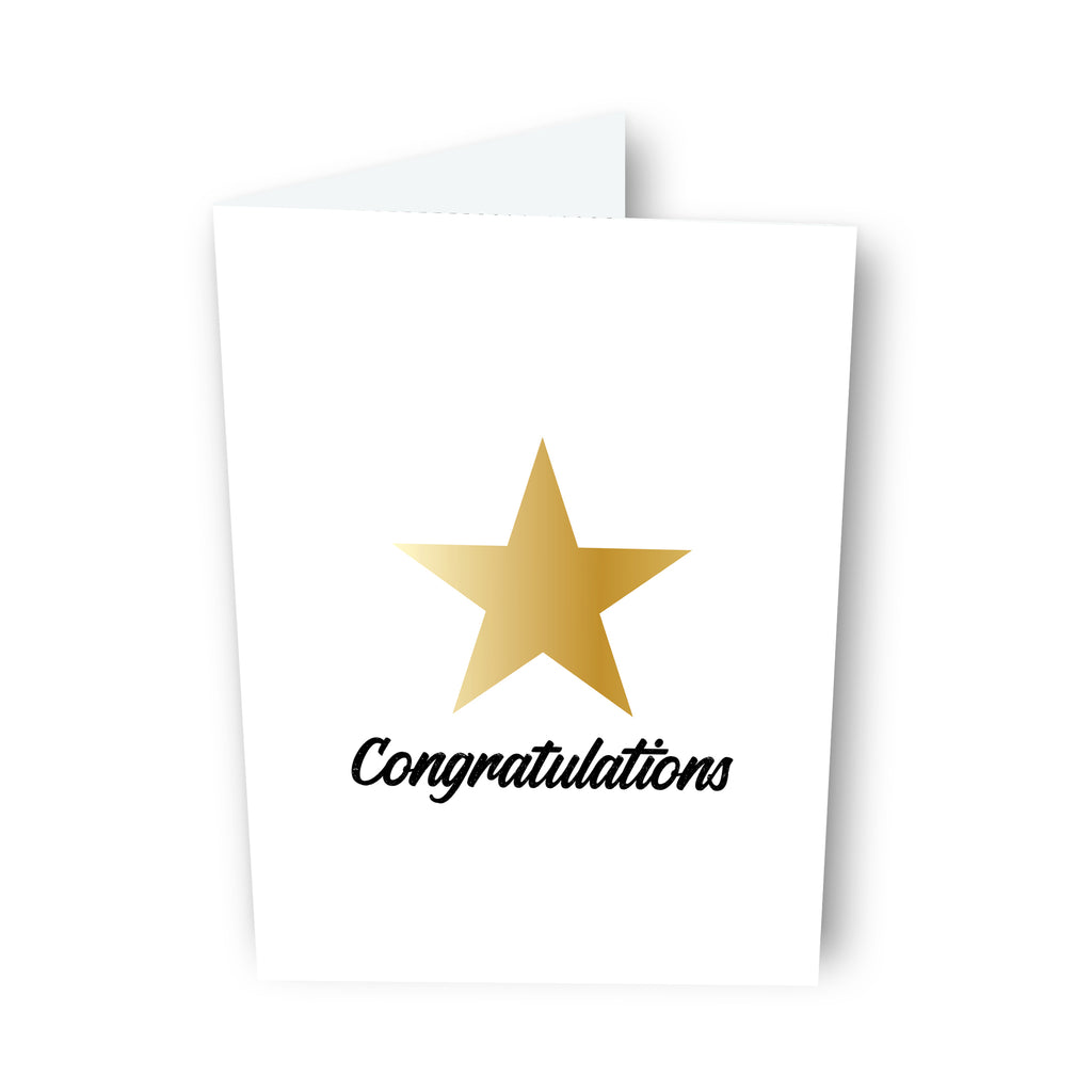 Congratulations! Card
