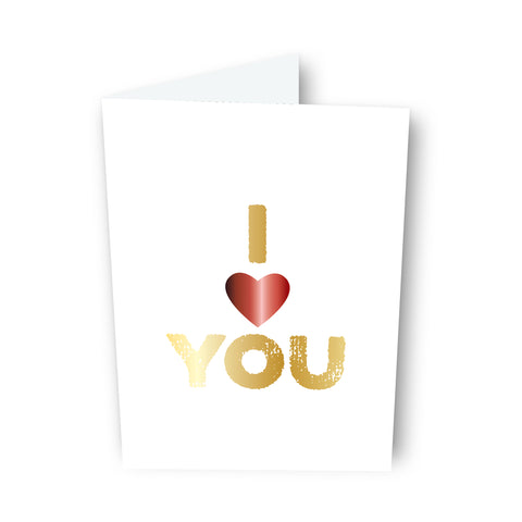 I 'Heart' You Card