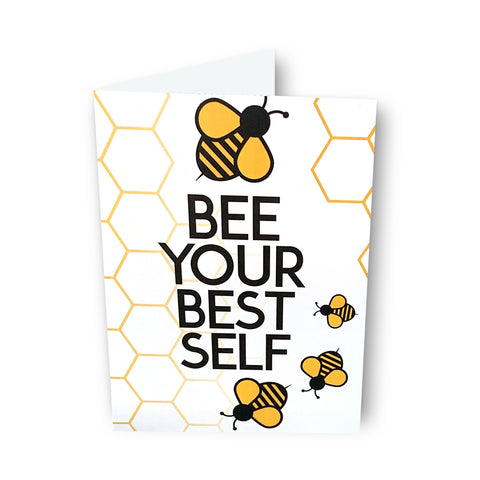 Bee Your Best Self Card