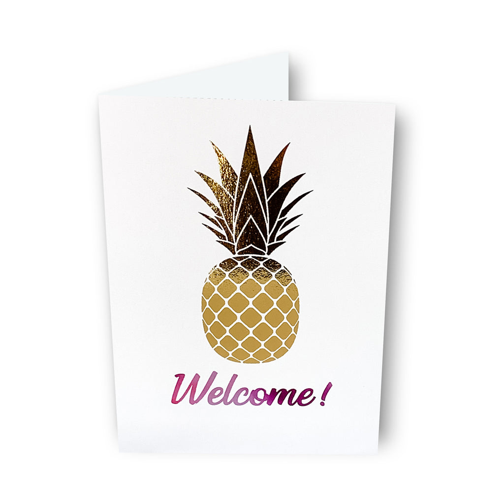 Welcome/Hospitality Card