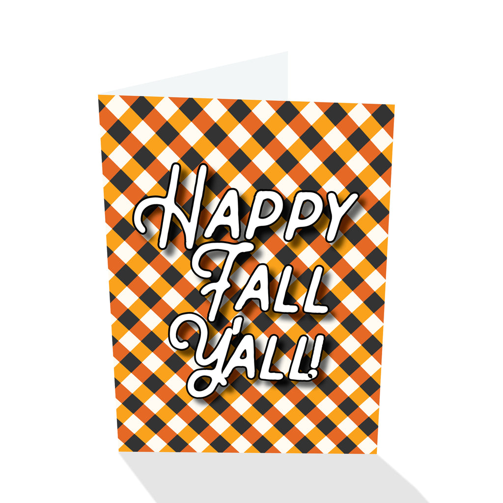 Happy Fall Y'all Card