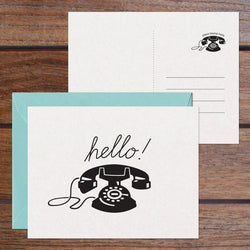 Phone Hello 2-in-1 Card Set (6 Cards)