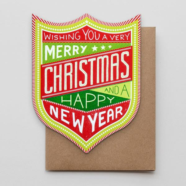 Holiday Box Set - Christmas & New Year Badge