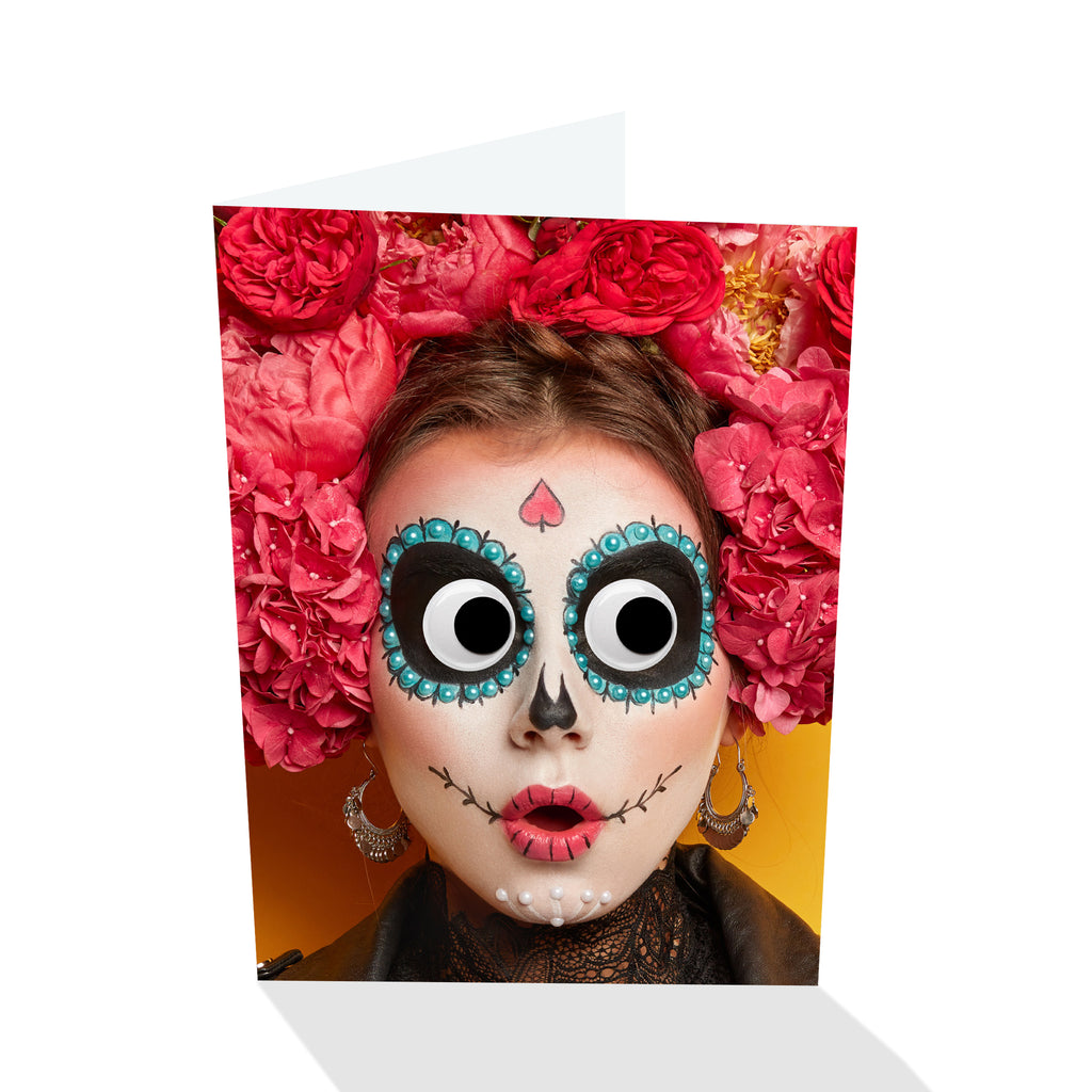 Deadeye Mary Halloween I Greeting Card