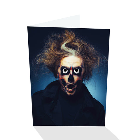Deadeye Harry Halloween V Greeting Card