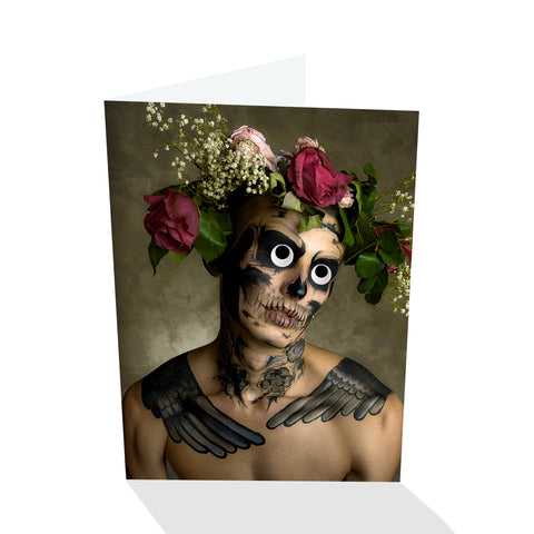 Deadeye Angelo Halloween VI Greeting Card