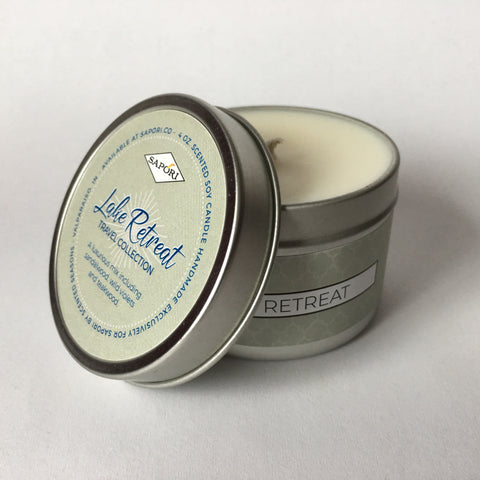 Lake Retreat 4oz. Travel Candle