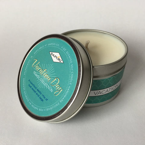 Vacation Day 4oz. Travel Candle