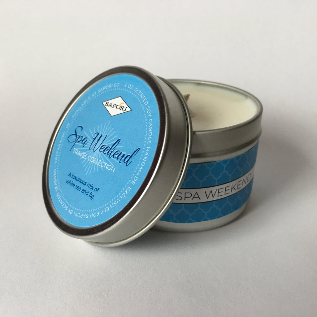 Spa Weekend 4oz. Travel Candle