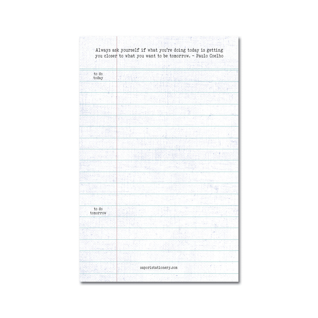 Ruled ToDo  Medium Notepads (Set of 3)