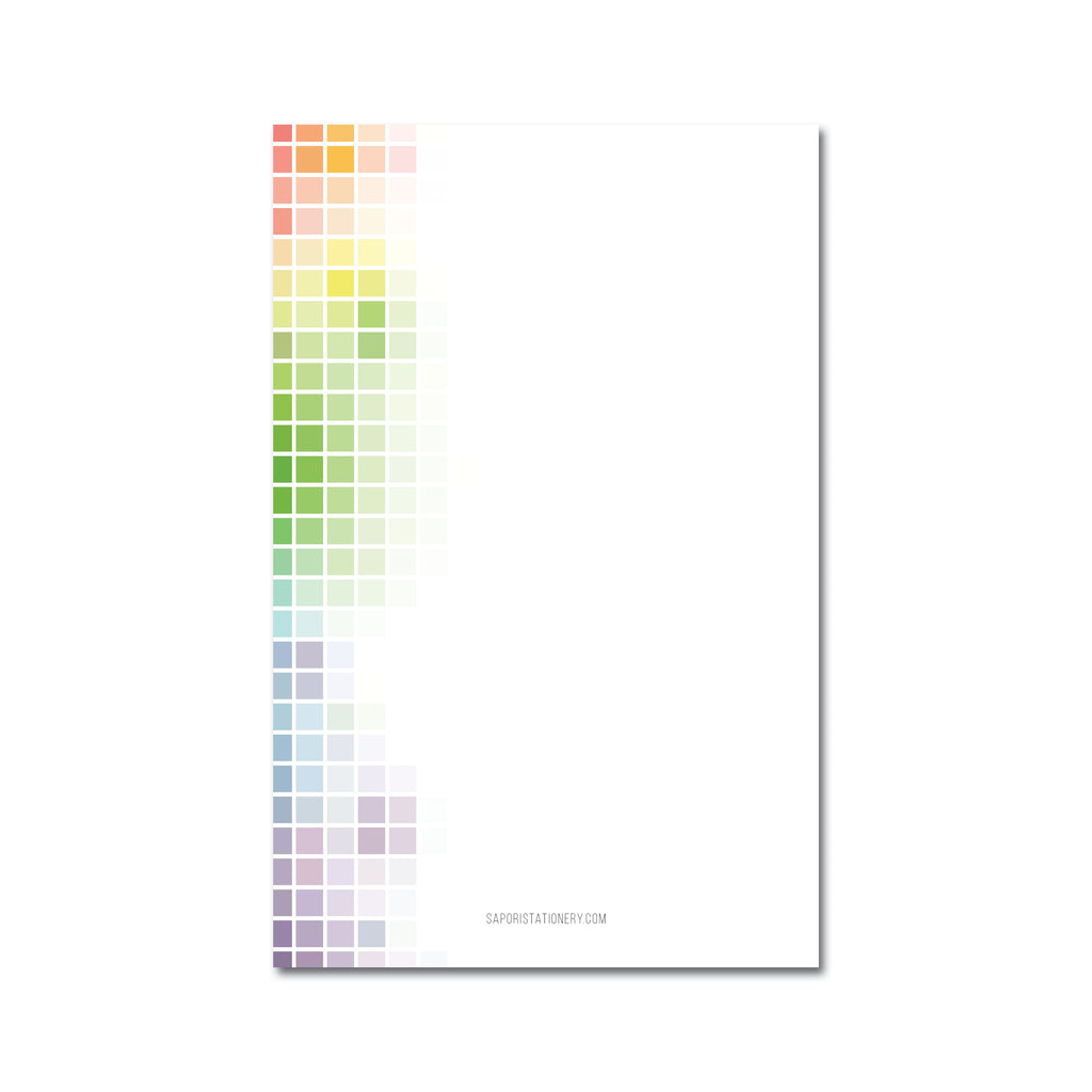 Colors Medium Notepads (Set of 3)