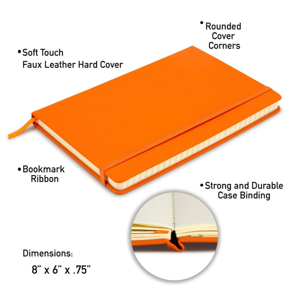 Large Leatherette Journal