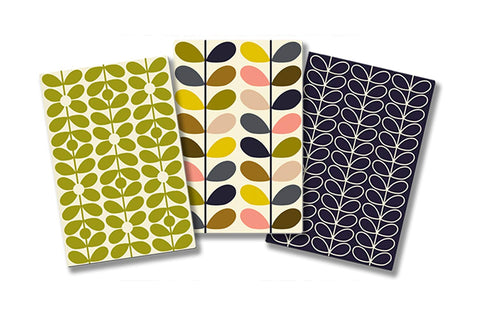 Orla Kiely Pocketbook Trio - Multi Stem