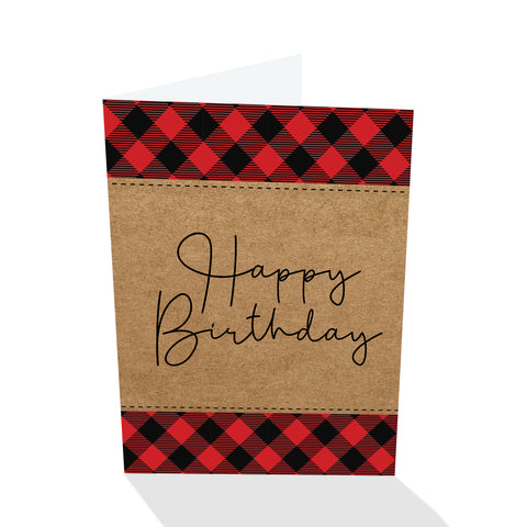 Everyday Petites - Happy Birthday Plaid
